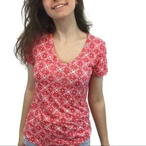 Mudd Orange V-Neck T-Shirt